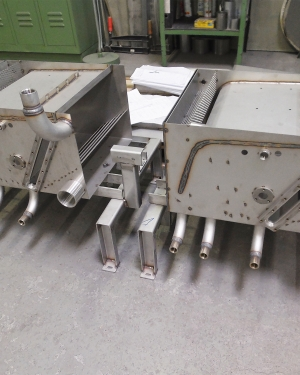 Mechanical engineering - special design in stainless steel