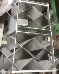 Honeycomb rectifier
