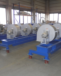 Supply air system for furnace technologies