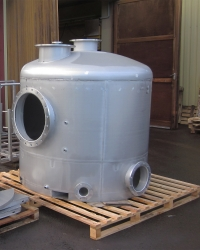Filter tank at the LBF-pickling facility